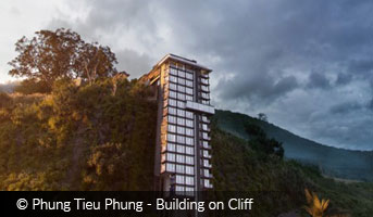 Phung Tieu Phung Building on Cliff