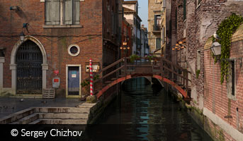 Sergey Chizhov Venice morning 3D contest