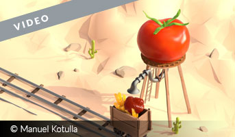 Manuel Kotulla How ketchup is really made 3D contest