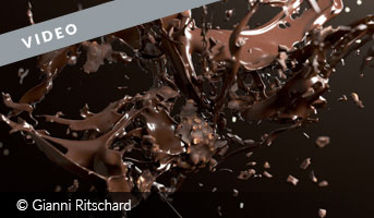 Chocolate Explosion Video by Gianni Ritschard